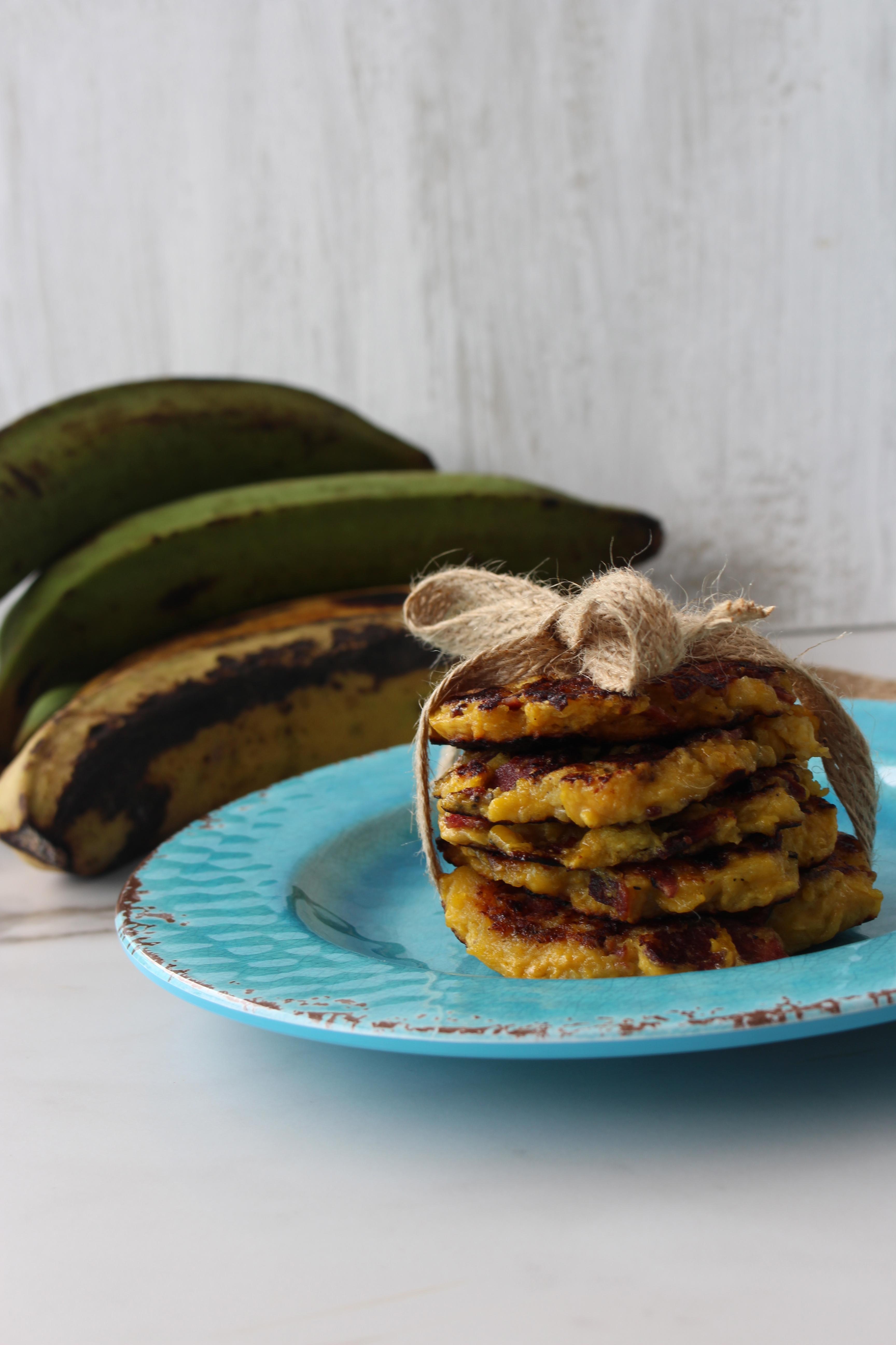 Arepitas de plátano