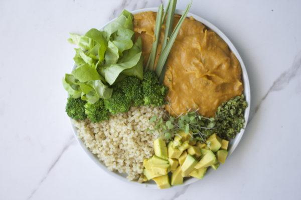 Curry de papa dulce